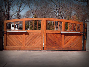 Residential Security Gates Tulsa